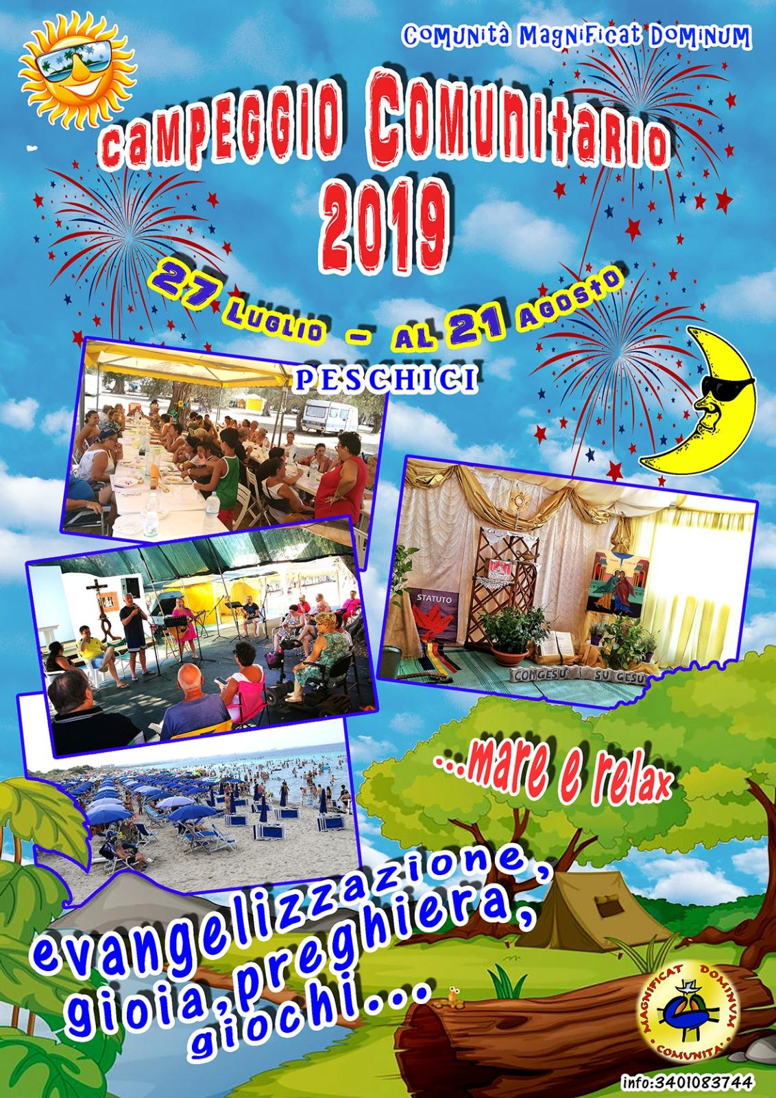 Volantino campeggio 2019